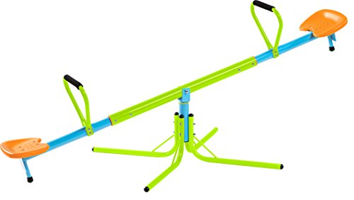 Pure-Fun-Home-Playground-Equipment-Swivel-Seesaw-Youth-Ages-4-to-10