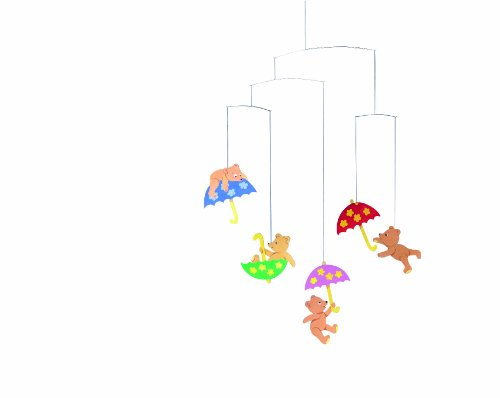 Flensted Mobiles Nursery Mobiles, Hugging Bears - 1
