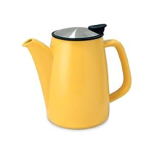 FORLIFE Café Style Ceramic Infusion Coffee Maker, 30-Ounce/888ml, Mandarin