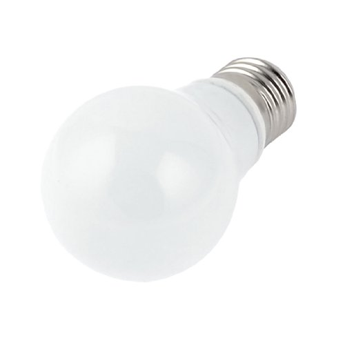 "E27 5W Energy Saving Led Ball Bulb White Light Lamp 2.2"" Dia"
