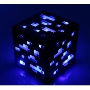 Minecraft Light-Up Diamond Ore (Blue)
