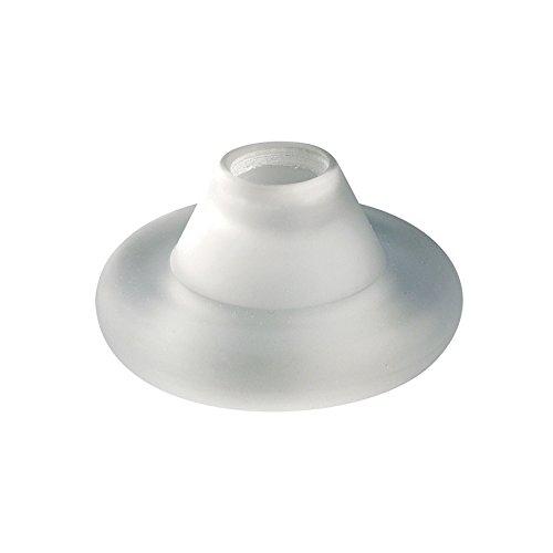 Wac Lighting G113-Wt G100 Series Ring Glass Shade, White
