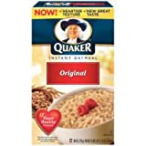 American Quaker Instant Oatmeal ORIGINAL 336g (pack of 1)
