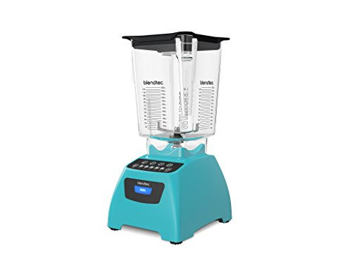 Blendtec C575A2321A-A1AP1D Blendtec Classic 575 Blender with WildSide Jar, Caribbean Blue