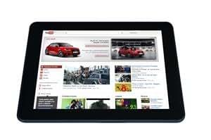 "Waisonic TBWAI97 - Tablet de 9.7"" (WiFi, 3G, 8 GB de disco duro, 1 GB de RAM, Android 4.0), color negro"
