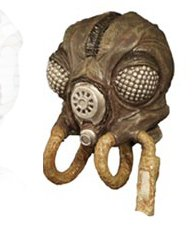 Star Wars 3-d Real Mask Magnet Collection Zuckuss Bounty Hunter (Empire Strikes Back)