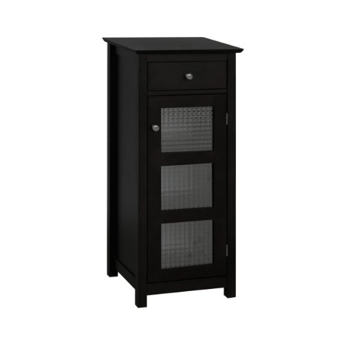 Learn More About Elegant Home Fashions Chesterfield Collection Floor Cabinet with Cupboard and Drawe...