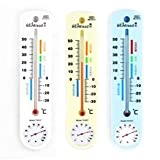 Indoor Rectangle Shaped Digital Thermometer Hygrometer