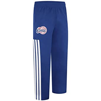 Los Angeles Clippers 2012-13 Adidas Blue NBA On-court Warm up Pant by adidas