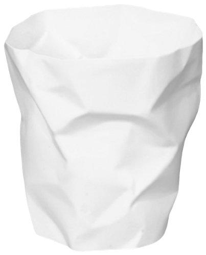 Klein & More Corbeille à papier design Bin Bin Blanc