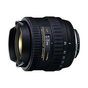 Tokina AT-X AF 10-17mm f3.5-4.5 DX Fisheye Lens for Nikon Digital SLR Cameras