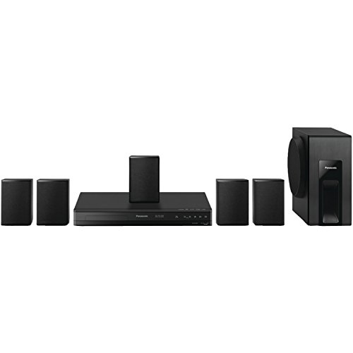 Panasonic Home Theater System SC-XH105 (Black) 5.1 Surround Sound, Upconvert DVDs to 1080p Detail (Panasonic Home Stereo System compare prices)