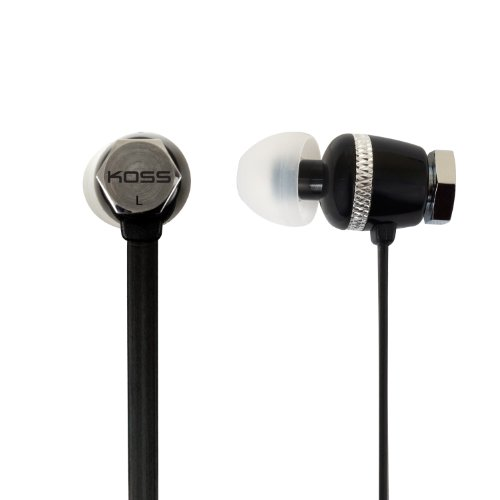Koss Ruk 30K Noise Isolating In-Ear Stereophone, Black