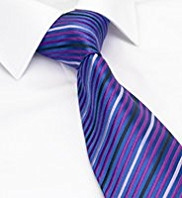 Sartorial Made in England Pure Silk Multi-Striped Tie