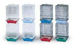 Prevue Pet Products BPVECONO8 8-Pack Parakeet Economy Small Cage, Colors Vary