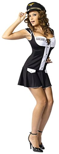Funworld Womens Uniforms Captain Layover Theme Party Fancy Halloween Costume