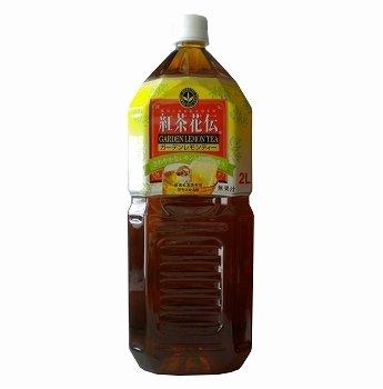 コカコーラ 紅茶花伝 ガーデンレモンティー2L×6本
