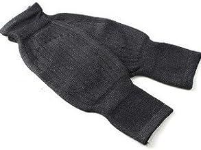 A Cashmere wool Knee Warmer dark grey