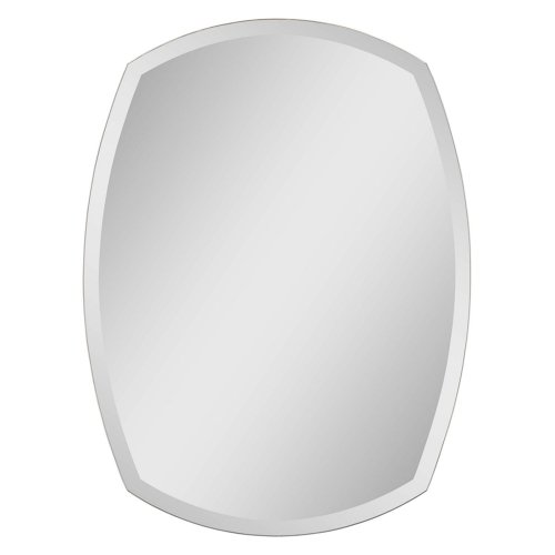 Ren-Wil Ren-Wil Polished Edge Wall Mirror - 24W X 32H In., Mirrored, Glass front-56844