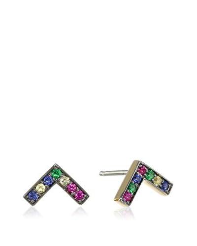Elizabeth and James Edo Multi-Color Stud Earrings