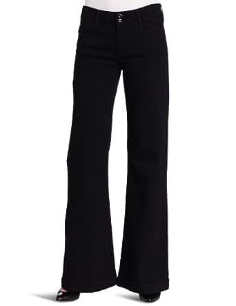 Levi's Women's Double Button Wide Leg Jean, Dark Night, 4 Medium