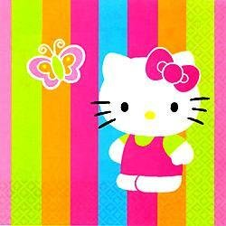 Hello Kitty Lunch Napkins 16ct - 1