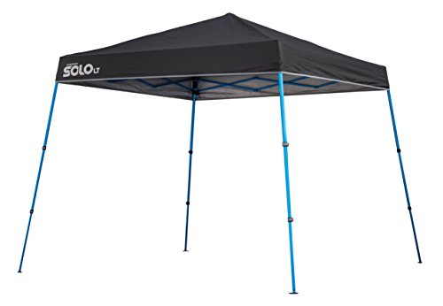 Quik Shade Solo LT50 Aluminum Compact Instant Canopy, Charcoal
