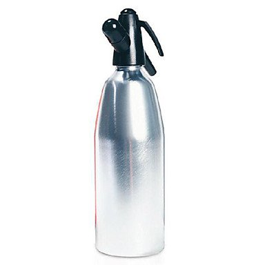 1L Classic Soda Whipper/Aluminum Alloy with Plastic Nozzles