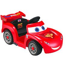 Fisher-Price Lil Lightning McQueen Battery Operated Riding Toy