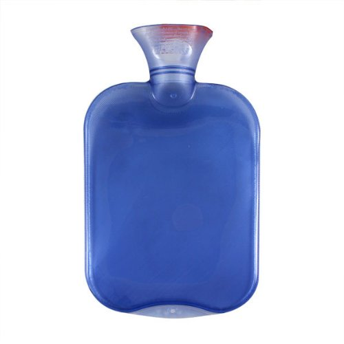 Fantastic Deal! Transparent Blue Classic Hot Water Bottle