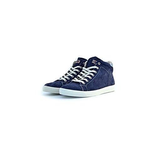 Scarpe sneakers Napapijri da uomo blu in camoscio traforato, 41