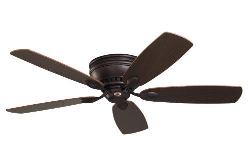 Emerson Cf905Orb Prima Snugger Indoor Ceiling Fan, 52-Inch Blade Span, Oil Rubbed Bronze Finish And Dark Cherry/Walnut Blades
