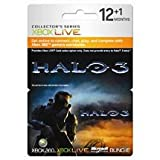 Halo 3 Xbox 360 Live 12+1 months Gold Card