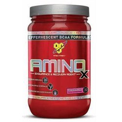 BSN Amino X 435 g Blue Raspberry -- Amino Acid Powder for Recovery & Muscle Growth
