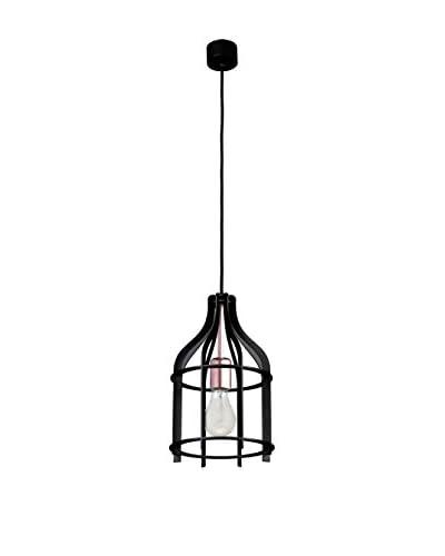 Light&Co. Lámpara De Suspensión Riana Negro/Cobre