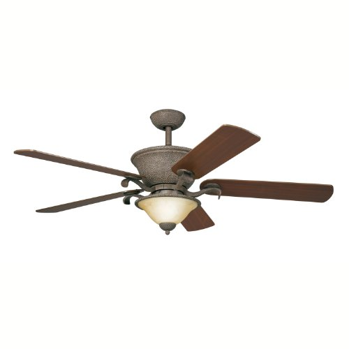 Black friday kichler lighting 300010oi 56 inch high country ceiling fan old iron cyber monday - Black iron ceiling fan ...