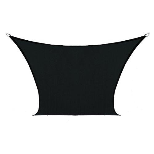 Coolaroo Custom Square Shade Sail, Black, 18