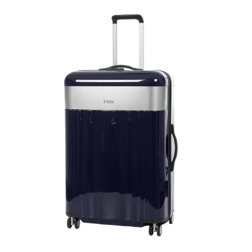 5th Element - Trolley 360°4 79 cm bleu nuit