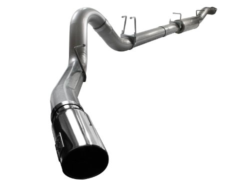 """Afe 49-43040 Mach Force Xp 5"""" Down-Pipe Back Exhaust System For Ford Diesel Trucks V8-6.4L"""