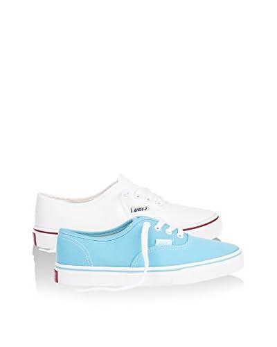Andy Z Sneaker (x 2 p.) [Bianco/Blu]