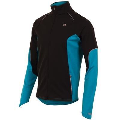 Mens Pearl Izumi Infinity Windblocking Jacket, Black/Electric Blue, L