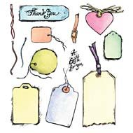 Tags Unmounted Rubber Stamp Set (50004)