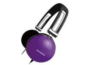 Zumreed ZHP-005 Retro Portable Stereo Headphones, Violet
