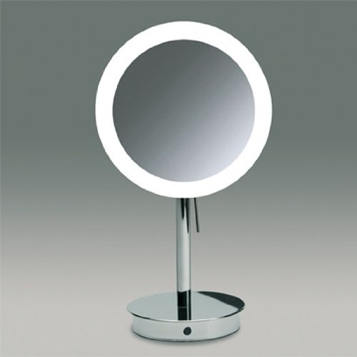 Nameeks 99851 o 3x windisch free stand led make up for Large stand up mirror