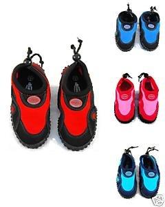 Blue Rush Girls Beach Wetsuit Aqua Shoes