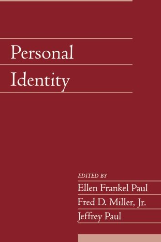Personal Identity: Volume 22, Part 2 (Social Philosophy and Policy)