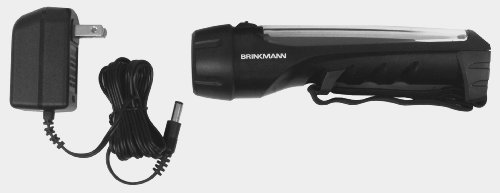 Brinkmann 809-4000-0 Solar Led Rechargeable Flashlight
