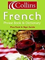 Collins French Phrase Book and Dictionary by