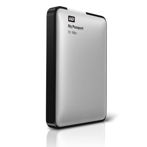 Wd My Passport For Mac 1 Tb Usb 2.0 External Hard Drive - Wdbbxv0010Bbk-Nesn