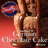 German Chocolate K-Cups | Timothy's | 24 K Cups (German Chocolate Cake Kcup compare prices)